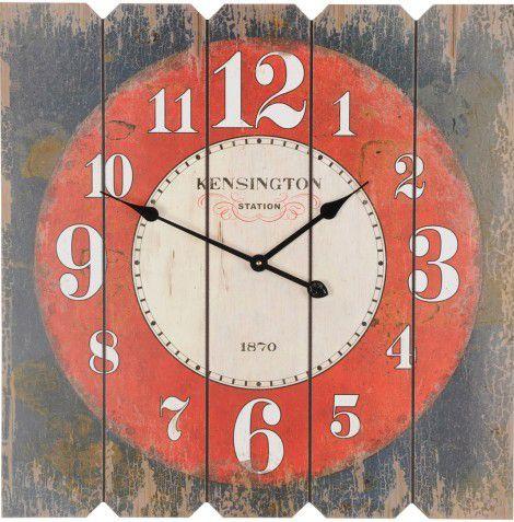 Nástěnné hodiny SQUARE 68 x 68 cm - KENSINGTON
