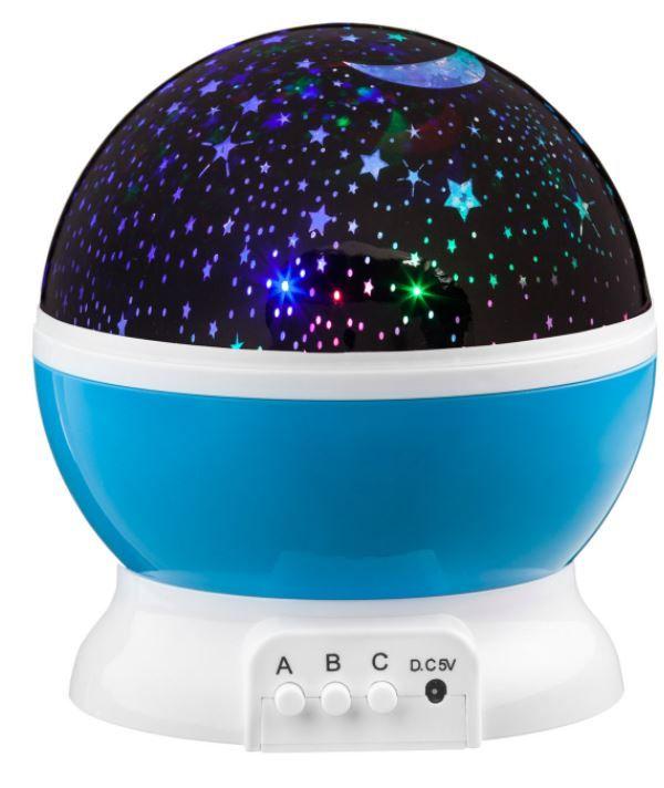 LED projektor noční oblohy - modré G56873