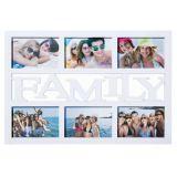Obrazový rám Family na 6 fotek - bílý