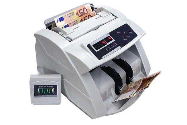 Profesionální počítadlo bankovek s falzifikátorem padělků