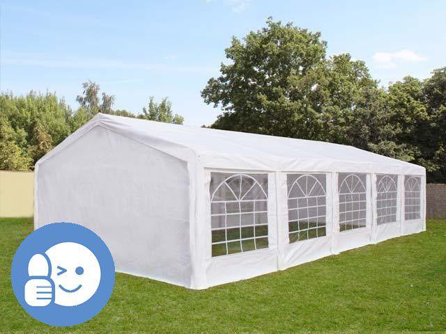 Zahradní párty stan CLASSIC 5 x 10 m - bílá