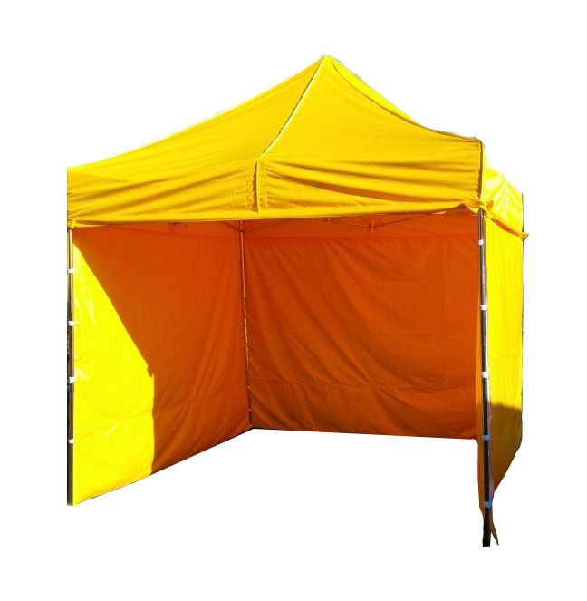 Tradgard PROFI STEEL 56472 Zahradní párty stan 3 x 3 - žlutá
