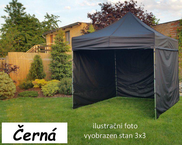 Levně Tradgard PROFI STEEL 57119 Zahradní párty stan 3 x 6 - černá