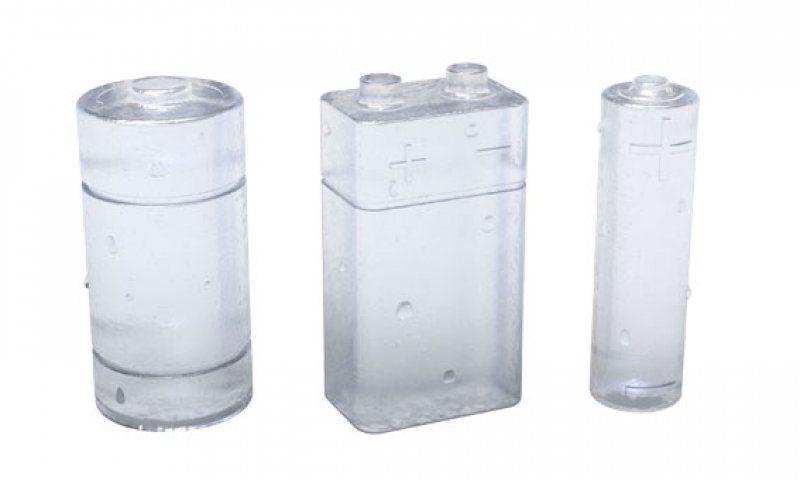 Forma na led - 3D ledové baterie