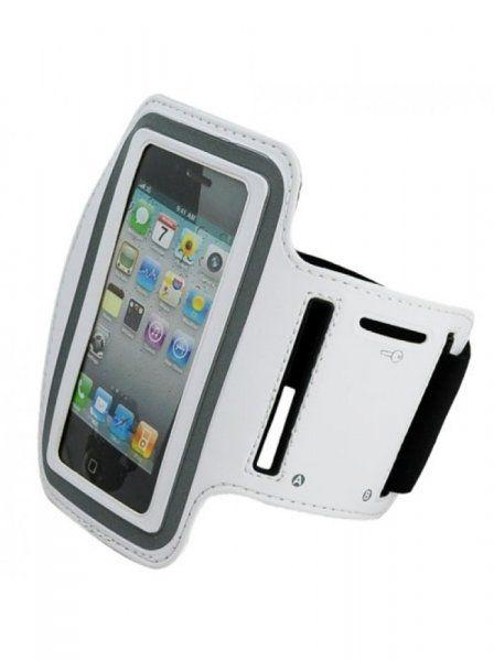 Držák mobilu na ruku - bílá