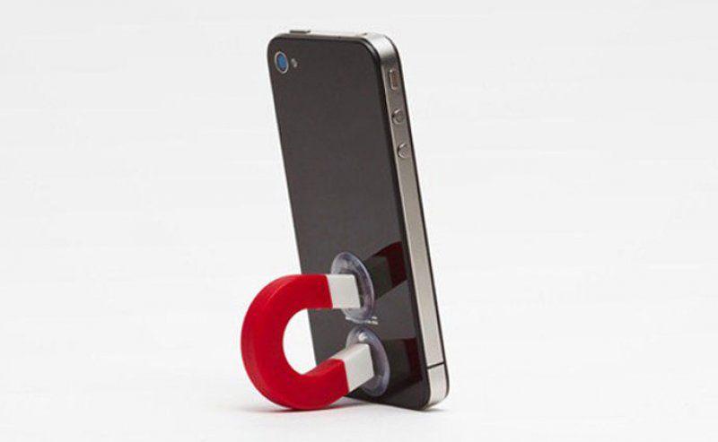 Držák telefonu magnet - černá
