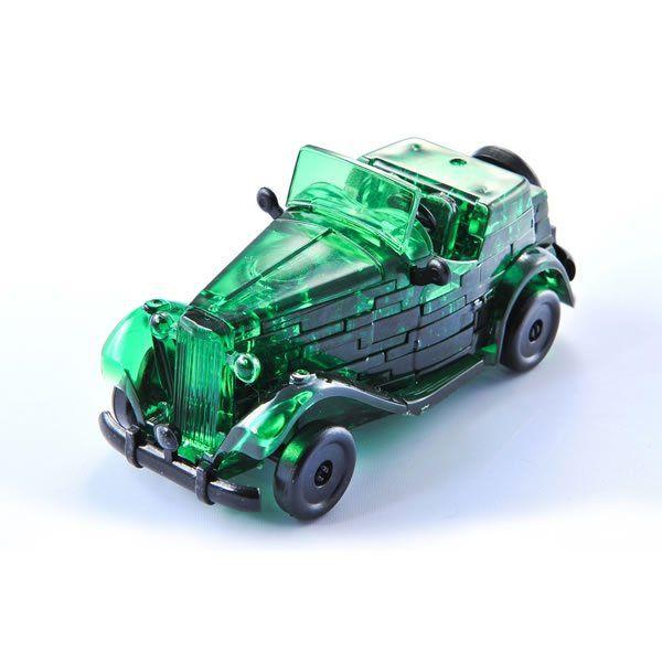 Krystal Puzzle-Auto - zelená