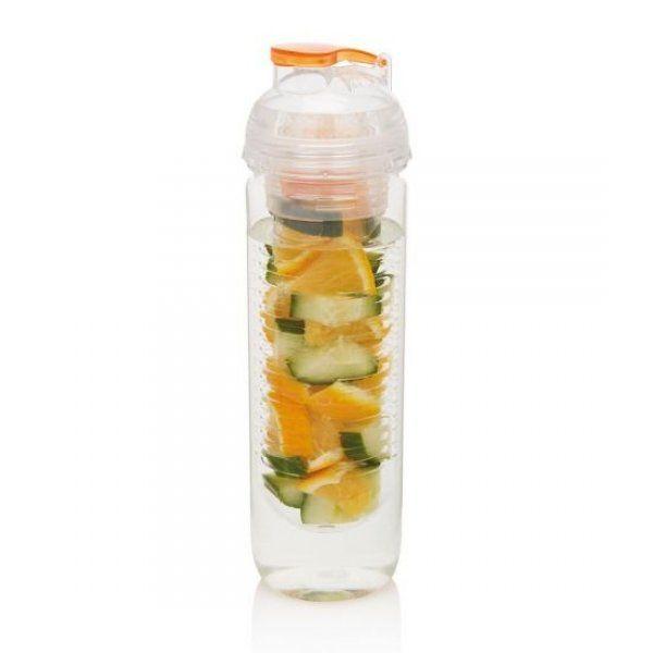 Lahev na vodu a na ovoce oranžová