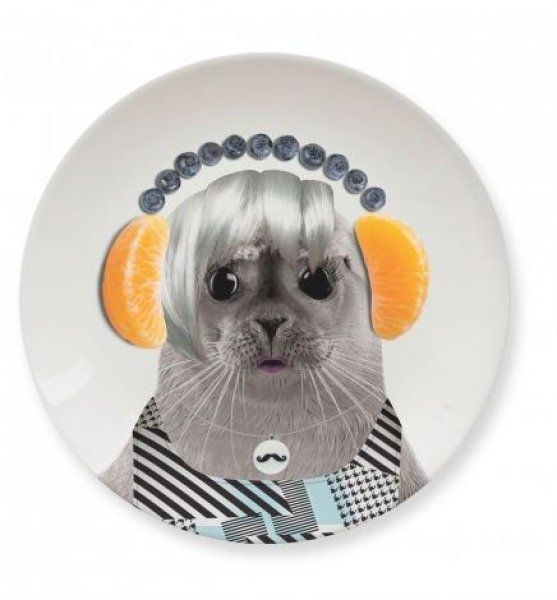 Malé talířky Wild Dining - tuleň