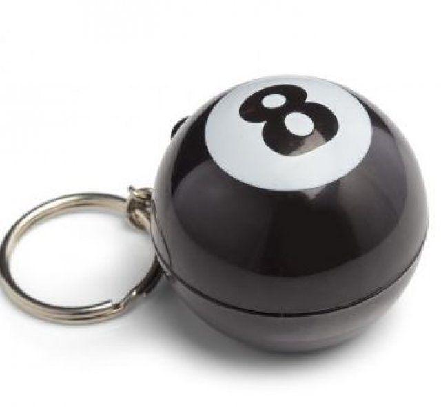 Mystic 8 Ball magická koule - Přívěšek na klíče