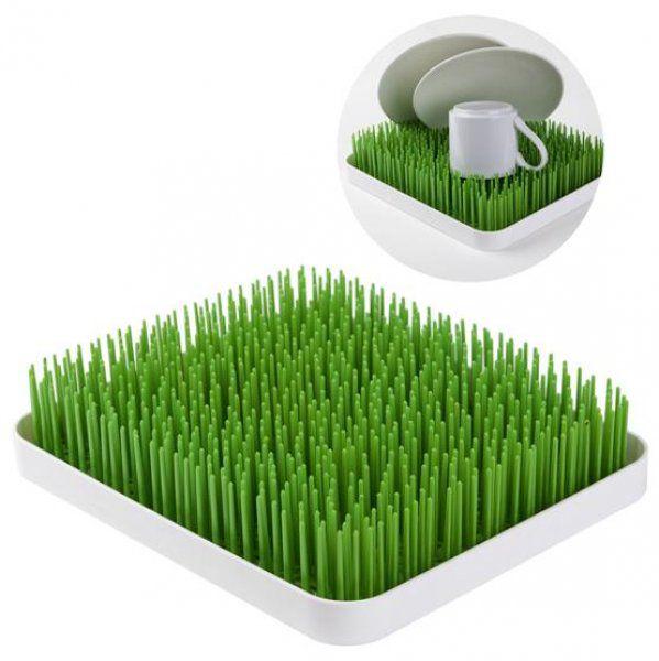 Odkapávač na nádobí tráva