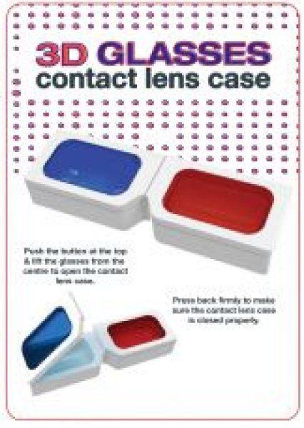 Pouzdro na čočky – 3D brýle
