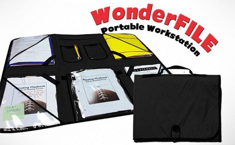 Přenosná pracovní plocha Wonder File