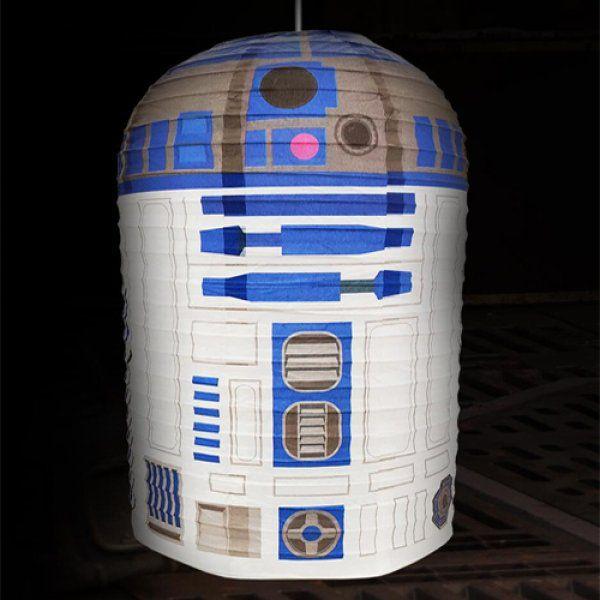 R2-D2 Star Wars – papírové stínítko