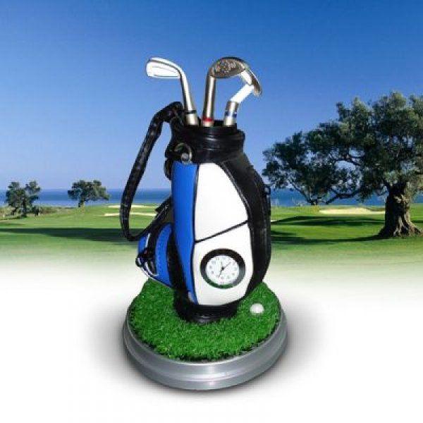 Sada golfových per s hodinami