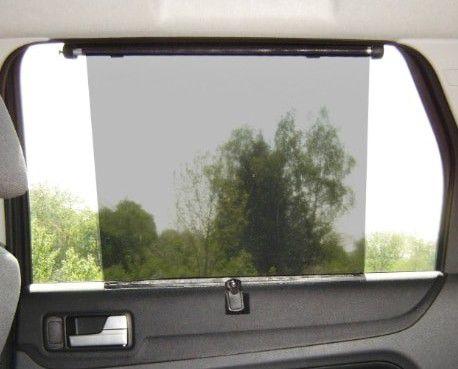Stínící roleta do auta