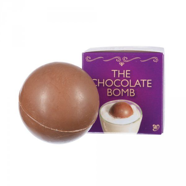 Čokoládová bomba do kávy či mléka s marshmallow