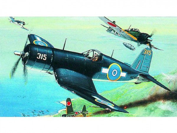 Směr Model Chance Vought F4U 1 Corsair HI TECH 14 1x1,73 cm v krabici 25x14 5x4 5 1:72
