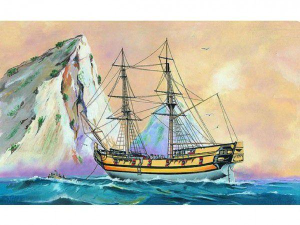 Black Falcon Pirátská loď 1:120 2v krabici 34x19x5,5cm