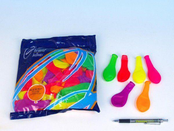 Balónek 7 párty neon