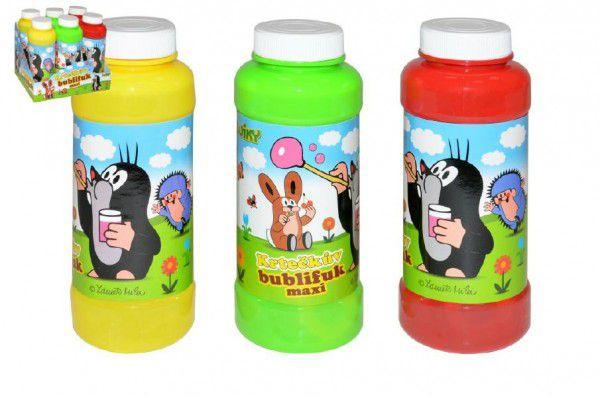 Krtek Bublifuk maxi 12plast - 3 barvy