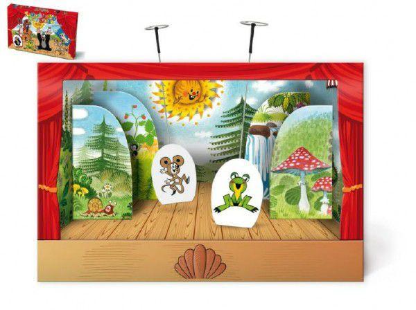 Divadlo dětské loutkové papírové Krtek