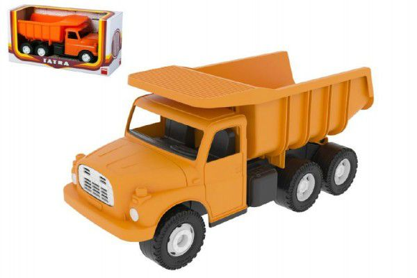 Tatra 1Auto plast 30cm oranžová sklápěč v krabici