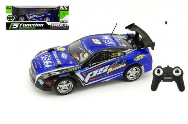 RC Auto 2plast zrychlující 1:18 na baterie 27MHz v krabici