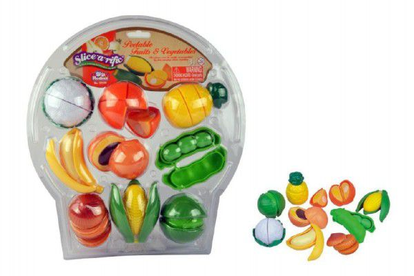 Teddies Krájecí ovoce a zelenina plast 28ks na blistru