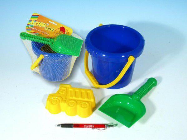 Lori Sada na písek kbelík lopatka bábovka