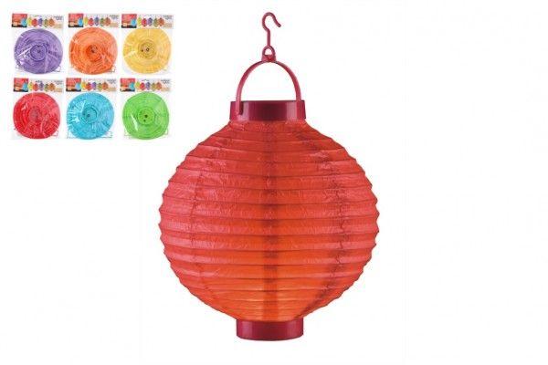 Lampion průměr 20cm LED na baterie (bez hůlky)