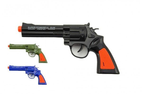 Levně Plastová pistole, 22 cm