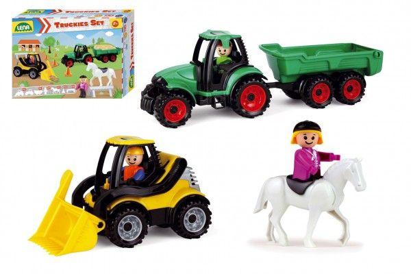 Truckies set, farma s doplňky