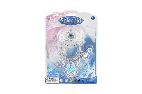 Sada princezny - korunka, náhrdelník, náušnice