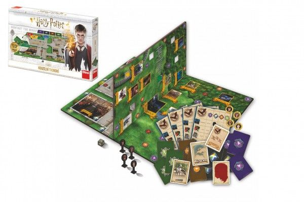 Harry Potter: Kouzelní tvorové, společenská hra, od 6 let.