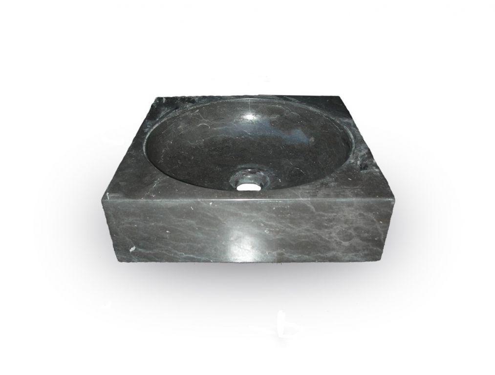 Indera Handwash Black 57058 Kamenné umyvadlo
