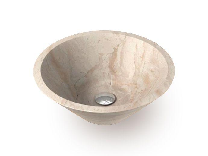 INDERA Fidus Cream 59161 Kamenné umyvadlo