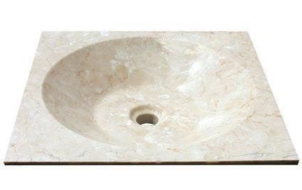 Indera Asper 59164 Kamenné umyvadlo Cream