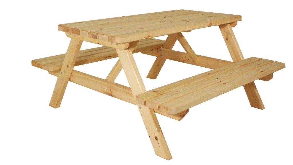 Gaboni 55340 Zahradní set piknik I. - bez povrchové úpravy - 150 cm