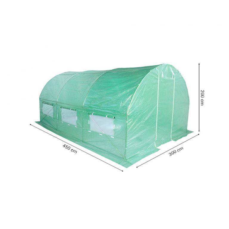 Fóliovník 300 cm x 450 cm  zelený