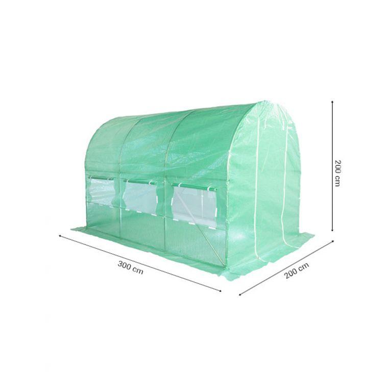 Fóliovník 200 cm x 300 cm - zelený
