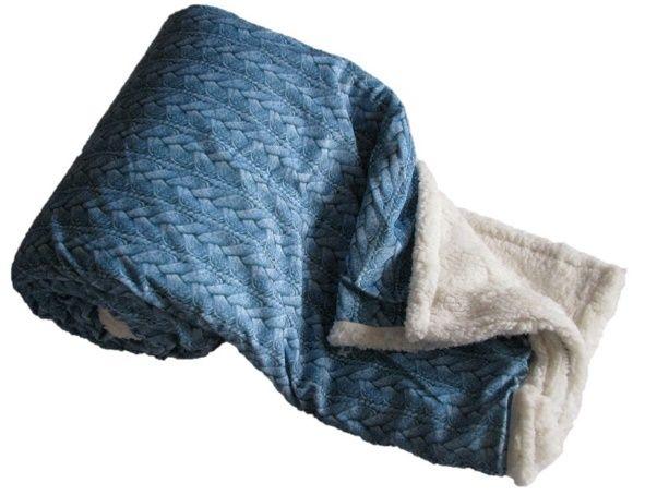 JAHU Deka 150 x 200 cm BERÁNEK COPÁNEK - modrá