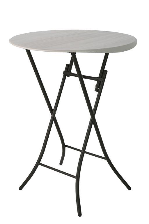 Chairy Skládací cateringový párty stolek - 84 x 84 x 110 cm