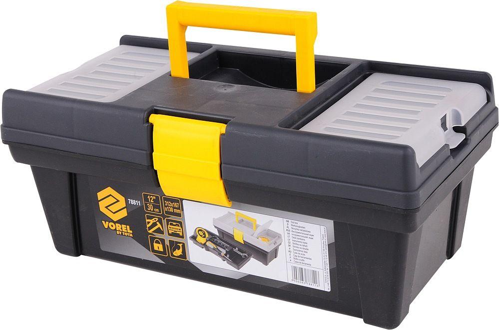 """Vorel Box na nářadí plastový 12"""" 1 zámek 30cm"""