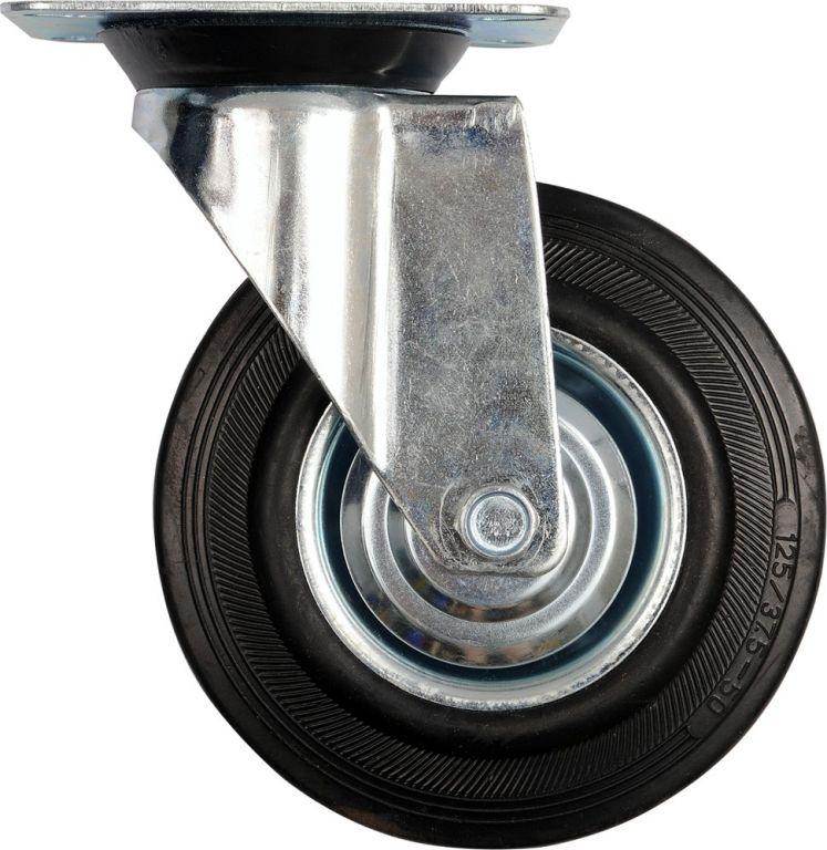 Vorel Kolečko otočné, gumové 60kg 100/27/130mm