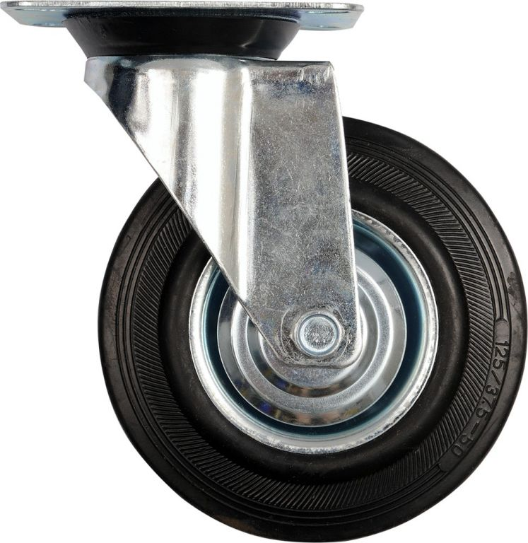 Vorel Kolečko otočné, gumové 130kg 160/40/195mm