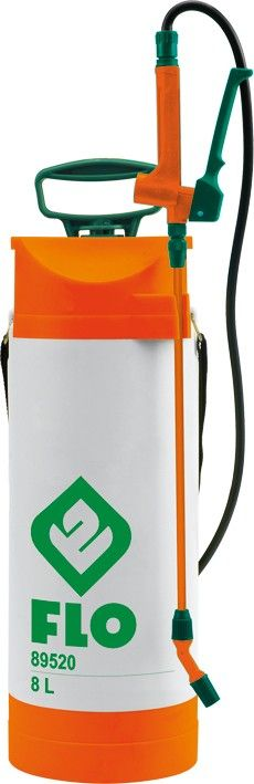 Flo Postřikovač tlakový ruční 8 L s manometrem