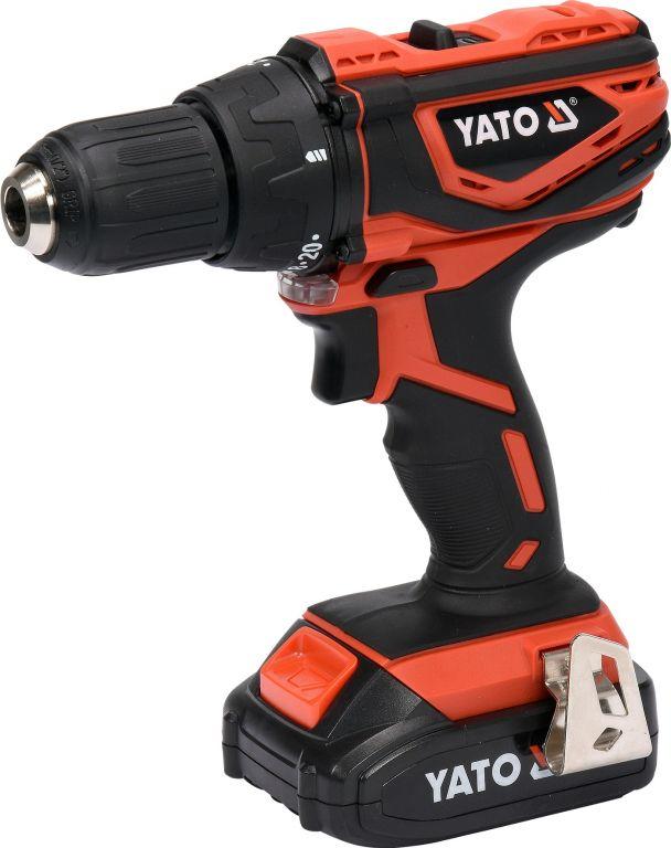 Yato Vrtačka AKU MABUCHI 18V LI-ION, 440-1650 ot/min, kufr
