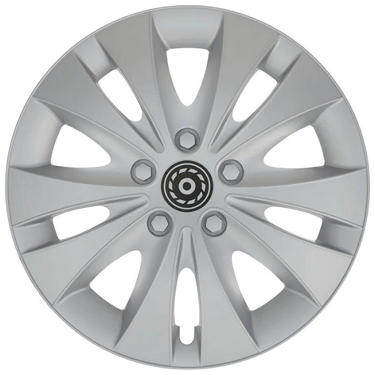 Compass Kryt kola CC24 15, jeden kus - stříbrná