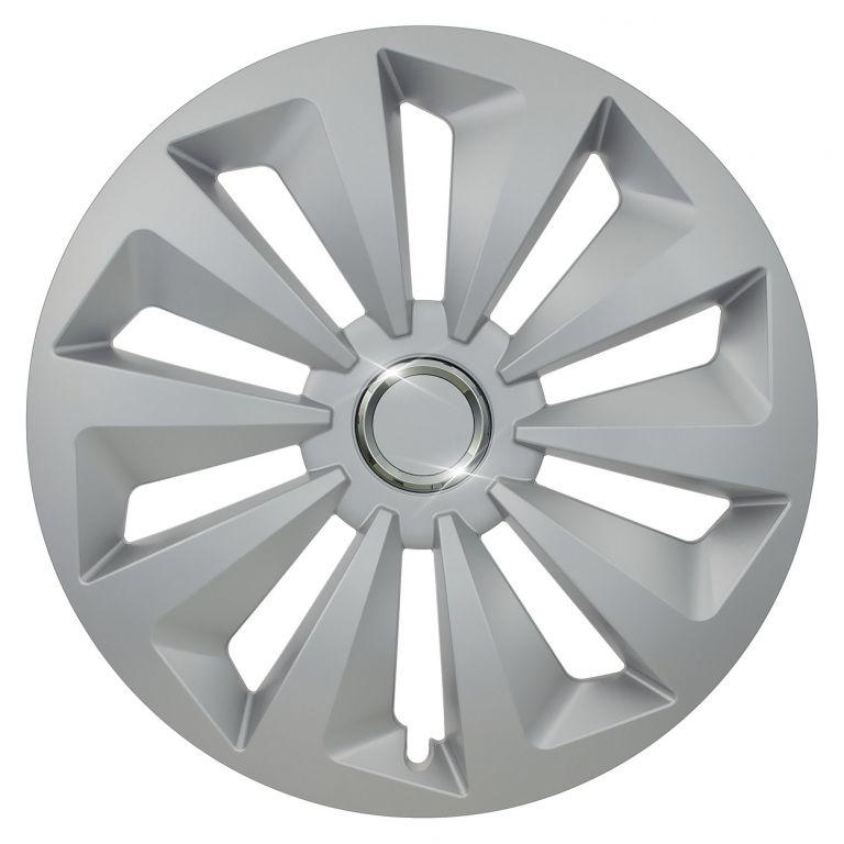 "Compass Fox Ring Silver/Black 14"""